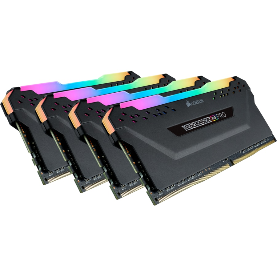 Fotografie Memorie Corsair Vengeance RGB PRO 64GB, DDR4, 3000MHz, CL16, Quad Kit