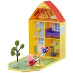 Комплект Peppa Pig с къща и градина, с включени две фигурки.