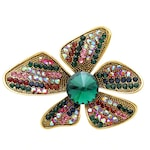 Brosa Herthrud C1, Pursehuit, Aliaj metalic, Multicolor