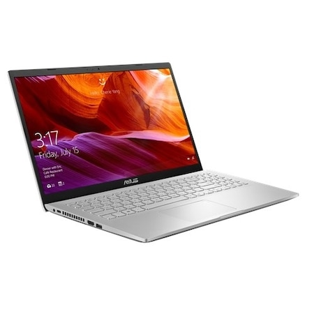 "Лаптоп ASUS X509JA-WB301 , Intel® Core™ i3-1005G1 (4M Cache, 1.20 GHz up to 3.40 GHz, 2 ядра), 15.6"" FullHD (1920x1080), 4GB DDR4, 256GB SSD M.2, FreeDOS, Transparent Silver"