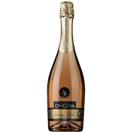 Vin Spumant Rose Cricova Lacrima Dulce, 0.75l