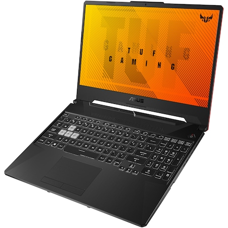 "Лаптоп Gaming ASUS TUF A15 FA506II, 15.6"", AMD Ryzen™ 7 4800H, RAM 8GB, SSD 512GB, NVIDIA® GeForce®GTX1650Ti 4GB, Free DOS, Bonfire Black"