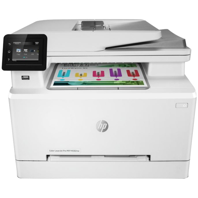 Fotografie Multifunctional laser color HP LaserJet Pro M282nw, Retea, Wireless, Duplex, A4