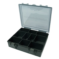 Риболовна кутия K-Karp K-BOX UNIT - средна, Пластмаса, Зелен