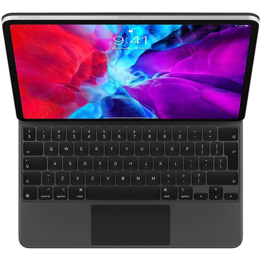 "Fotografie Tastatura Apple Magic pentru iPad Pro 12.9"" (2020), Layout INT EN, Black"