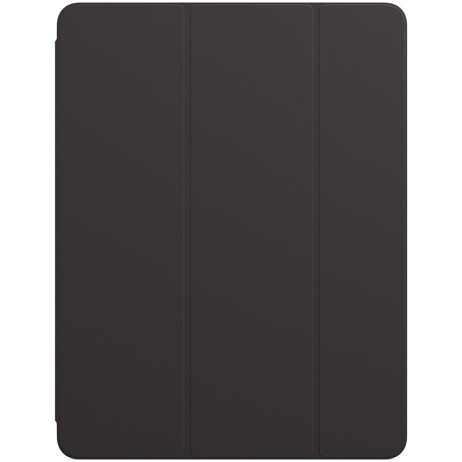 """Fotografie Husa de protectie Apple Smart Folio pentru iPad Pro 12.9"""" (2020), Black"""