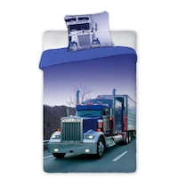 Kamionos ágyneműhuzat 140 x 200 cm + 70 x 80 cm, pamut