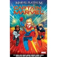 Marvel Platinum: The Definitive Captain Marvel de Stan Lee