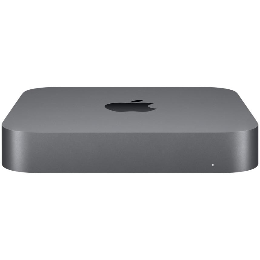 Fotografie Mac Mini PC Apple (2020) cu procesor Intel® Core™ i3 3.60 GHz, 8GB, 256GB SSD, Intel UHD Graphics 630, INT, Space Grey