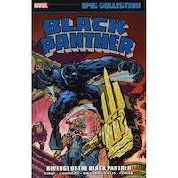 Black Panther Epic Collection: Revenge Of The Black Panther de Jack Kirby