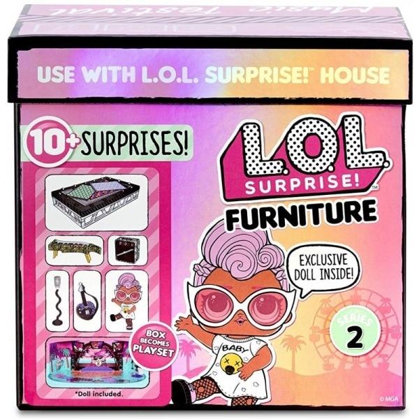 LOL Surprise Furniture játékszettel - Zenei fesztivál PpGsBI