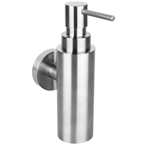Fotografie Dispenser (dozator) sapun/dezinfectant Bemeta Neo, montaj pe perete, 150 ml, Crom mat