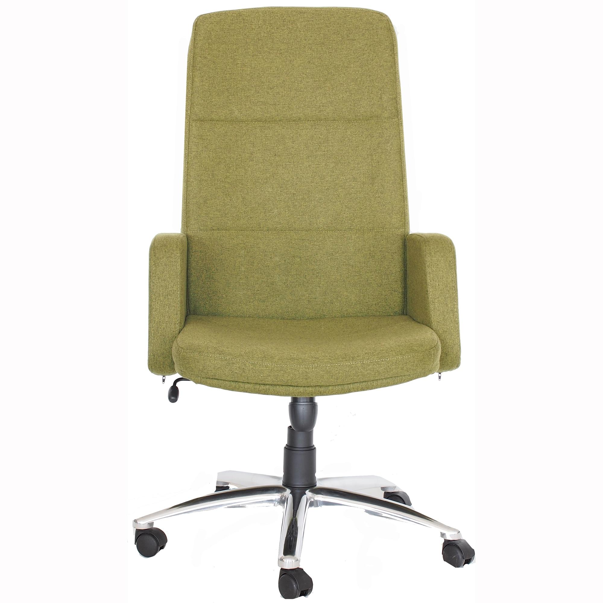 Fotografie Scaun de birou 6500 Aria Antares, textil L36, verde inchis