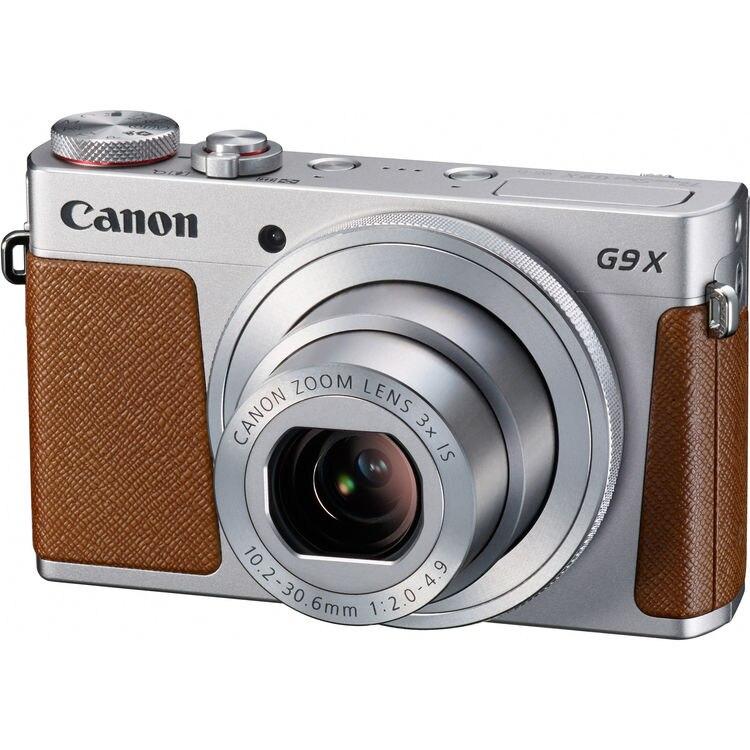 Fotografie Aparat foto digital Canon PowerShot G9x, 20.2MP, Silver