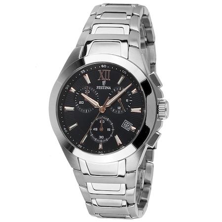 Мъжки часовник Festina F16678/C, 42mm, 5ATM