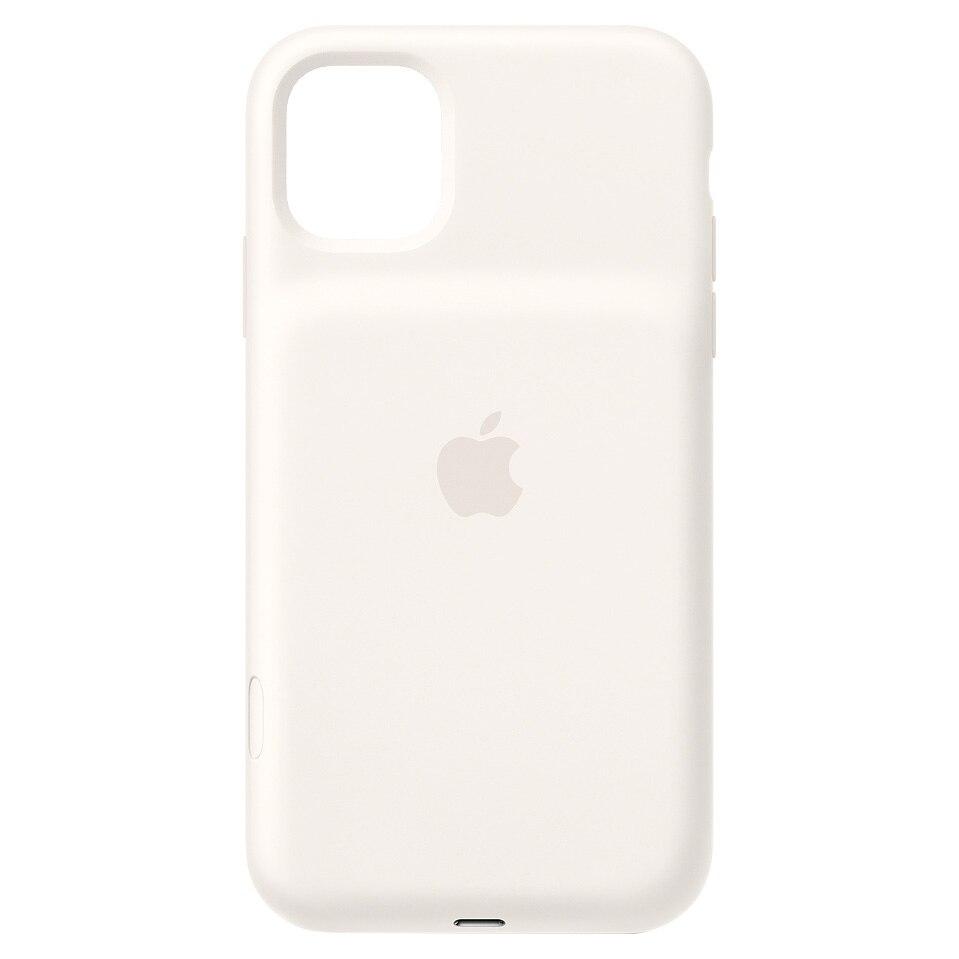 Fotografie Husa de protectie cu acumulator Apple Wireless Charging pentru iPhone 11, White