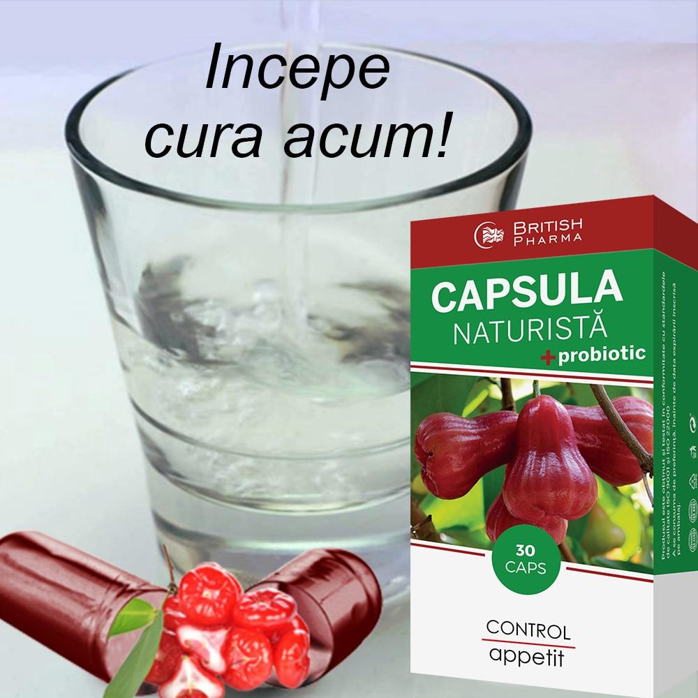 Capsula slim slabit 30cps - British pharma, pret 98,0 lei - Planteea