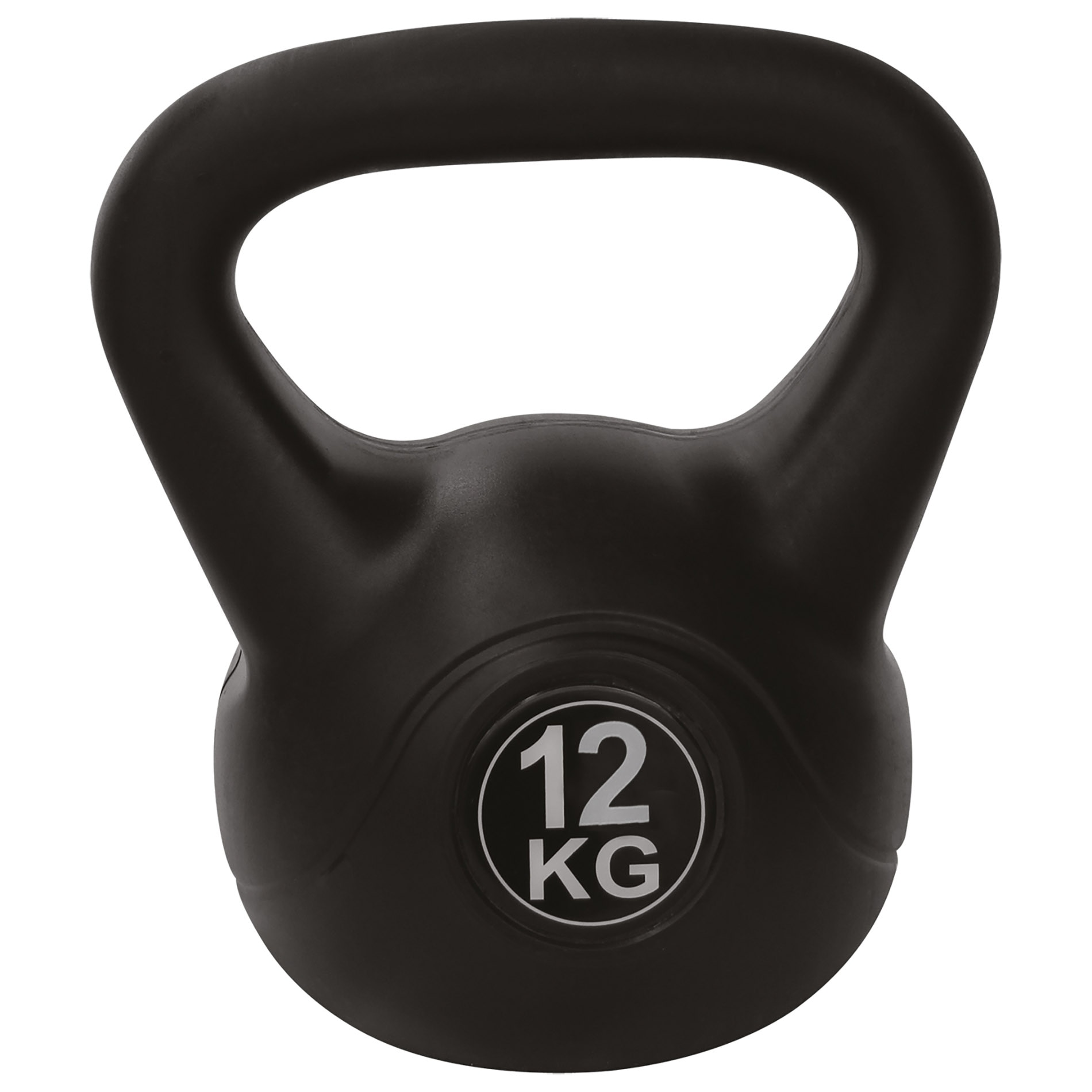 Fotografie Kettlebell PE Tunturi, 12kg, negru