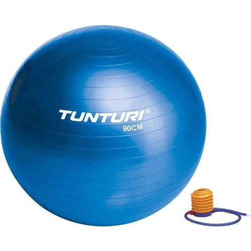 Fotografie Minge fitness/yoga/pilates Tunturi, 90cm, albastru