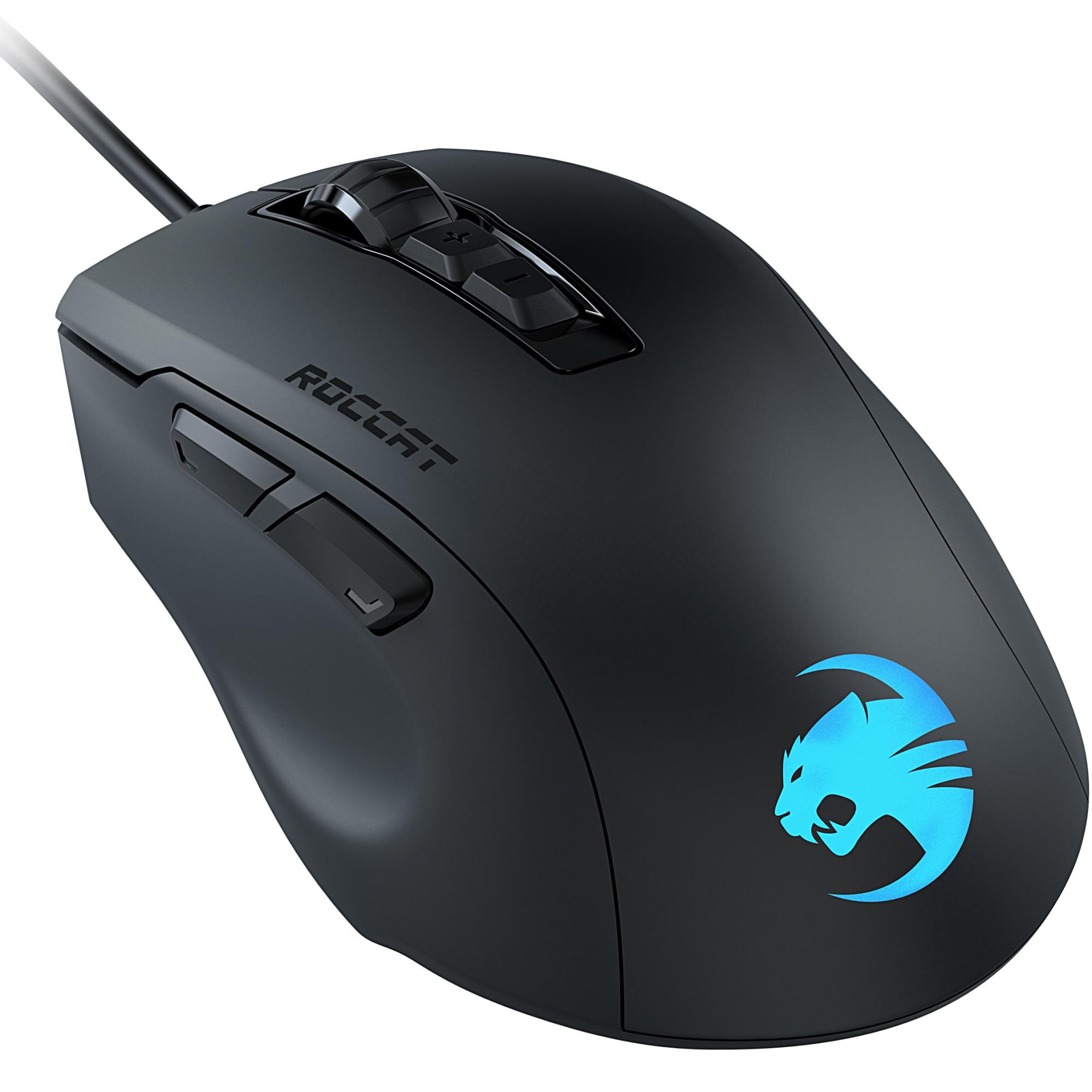 Fotografie Mouse gaming Roccat Kone Pure Ultra, ultrausor 66g, Negru