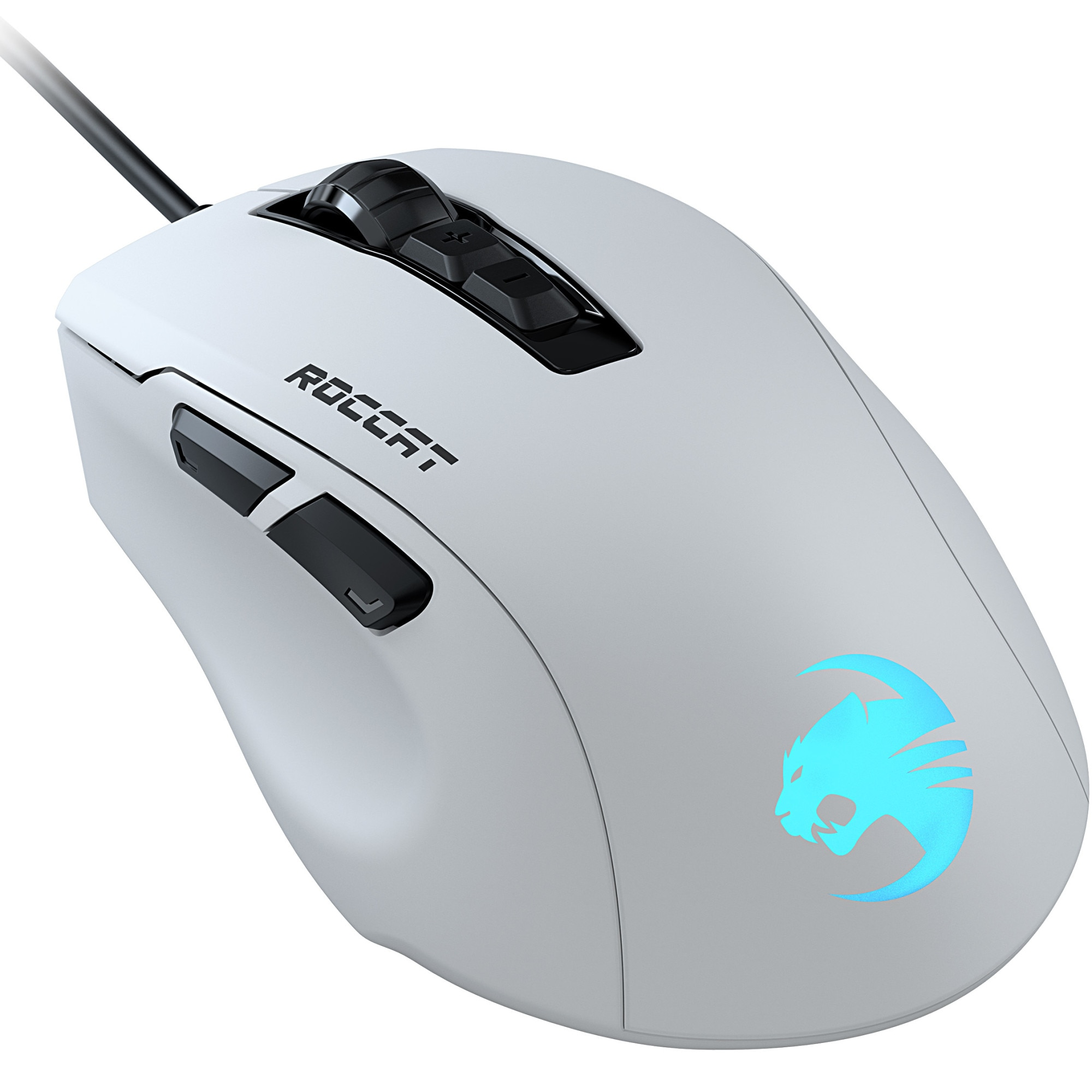 Fotografie Mouse gaming Roccat Kone Pure Ultra, ultrausor 66g, Alb