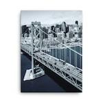 Канава с Градски Пейзаж San Francisco Bridge 60 x 40 см / 60 x 90 см