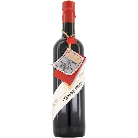 Vin Rosu Comoara Pivnitei Pinot Noir, Demisec, 0.75l