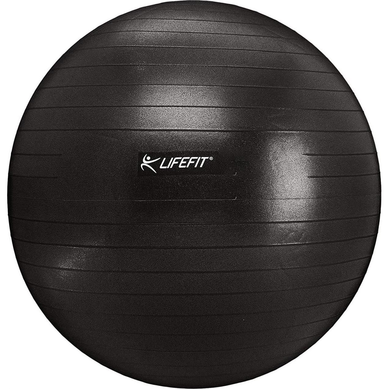 Fotografie Minge fitness Lifefit 65cm, negru