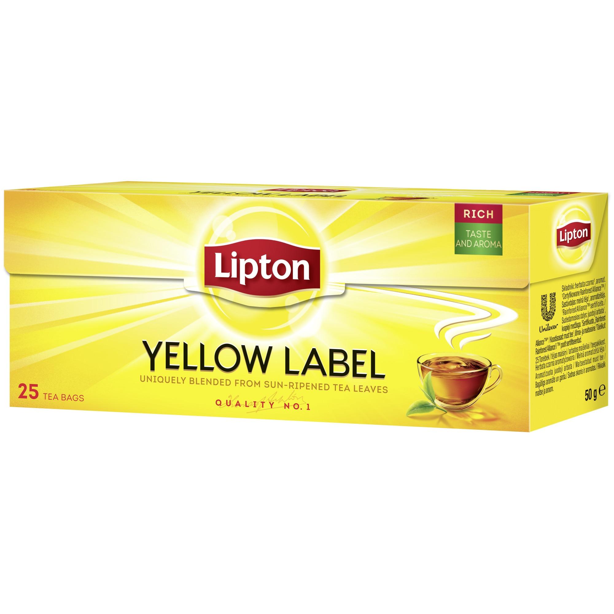 lipton galben etichetă ceai arde grăsime