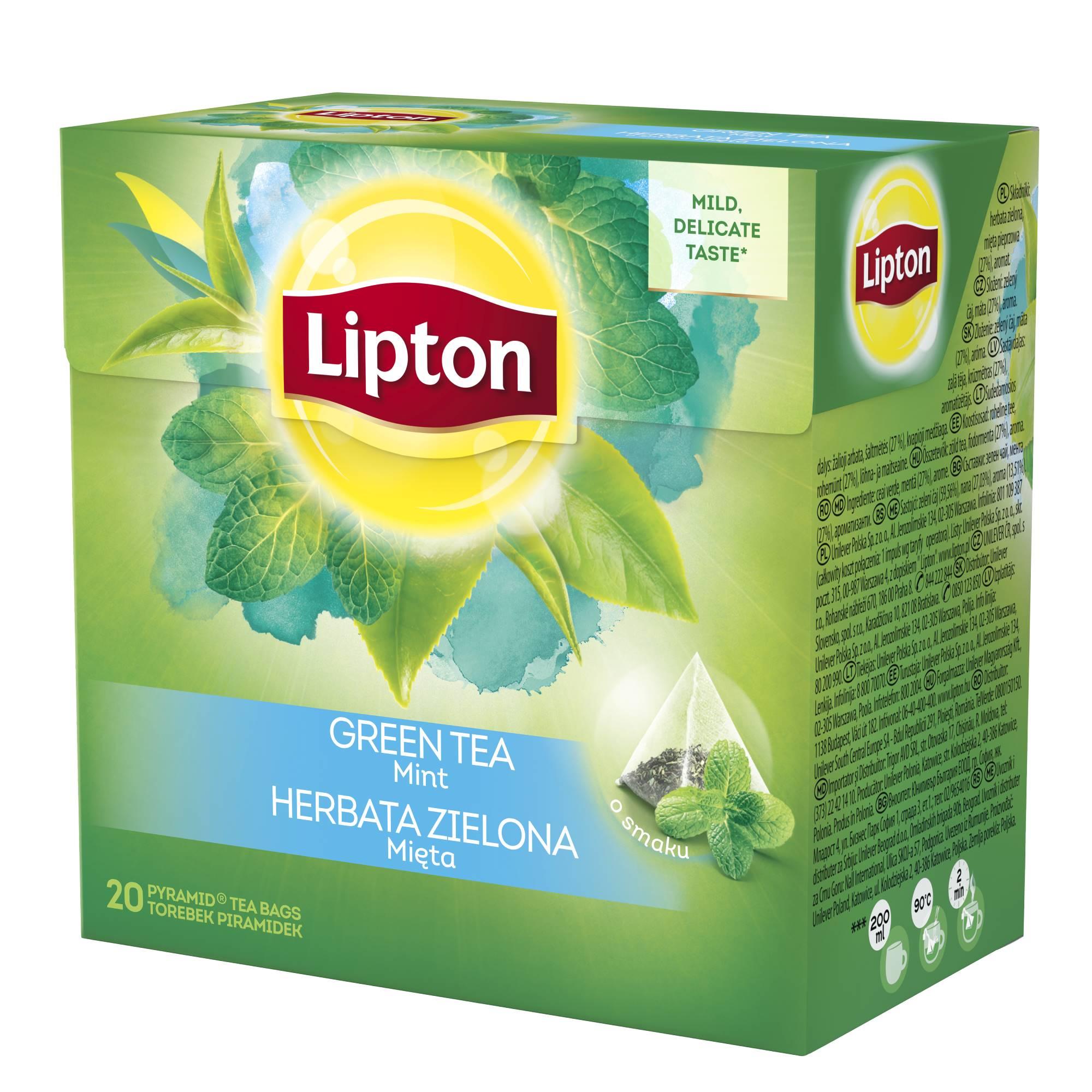 ceai verde cu lamaie lipton