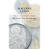 Сребърен инвестиционен медал Архангел Михаил 1oz