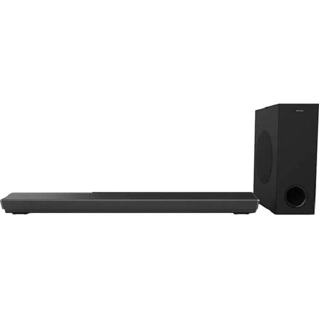 Fotografie Soundbar PHILIPS TAPB603/10, Subwoofer wireless Dolby Atmos® 3.1 , HDMI (ARC) , 300W, negru