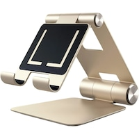 Satechi Aluminium R1 állítható mobiltelefon/tablet állvány, Arany