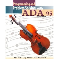 Programming and Problem Solving with ADA 95 de Nell B. Dale