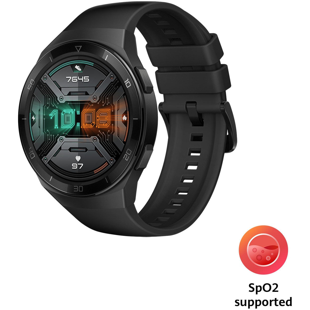 Fotografie Smartwatch Huawei Watch GT 2e, 46mm, Graphite Black