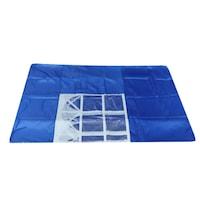 Страница за сгъваема шатра с прозорец - синя