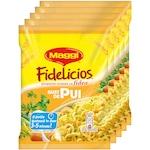 Pachet 5x fidea instant cu gust de pui Maggi Fidelicios 5x59.2g, 296g