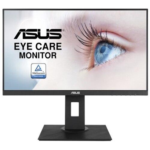 "Fotografie Monitor LED IPS ASUS 23.8"", Full HD, 75Hz, DisplayPort, FreeSync, FlickerFree, Negru, Pivot, VA24DQLB"