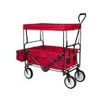 Timeless Tools Összecsukható kocsi tetővel, piros