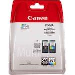 Комплект касети с мастило Canon PG-560/CL-561, Черен/Цветен