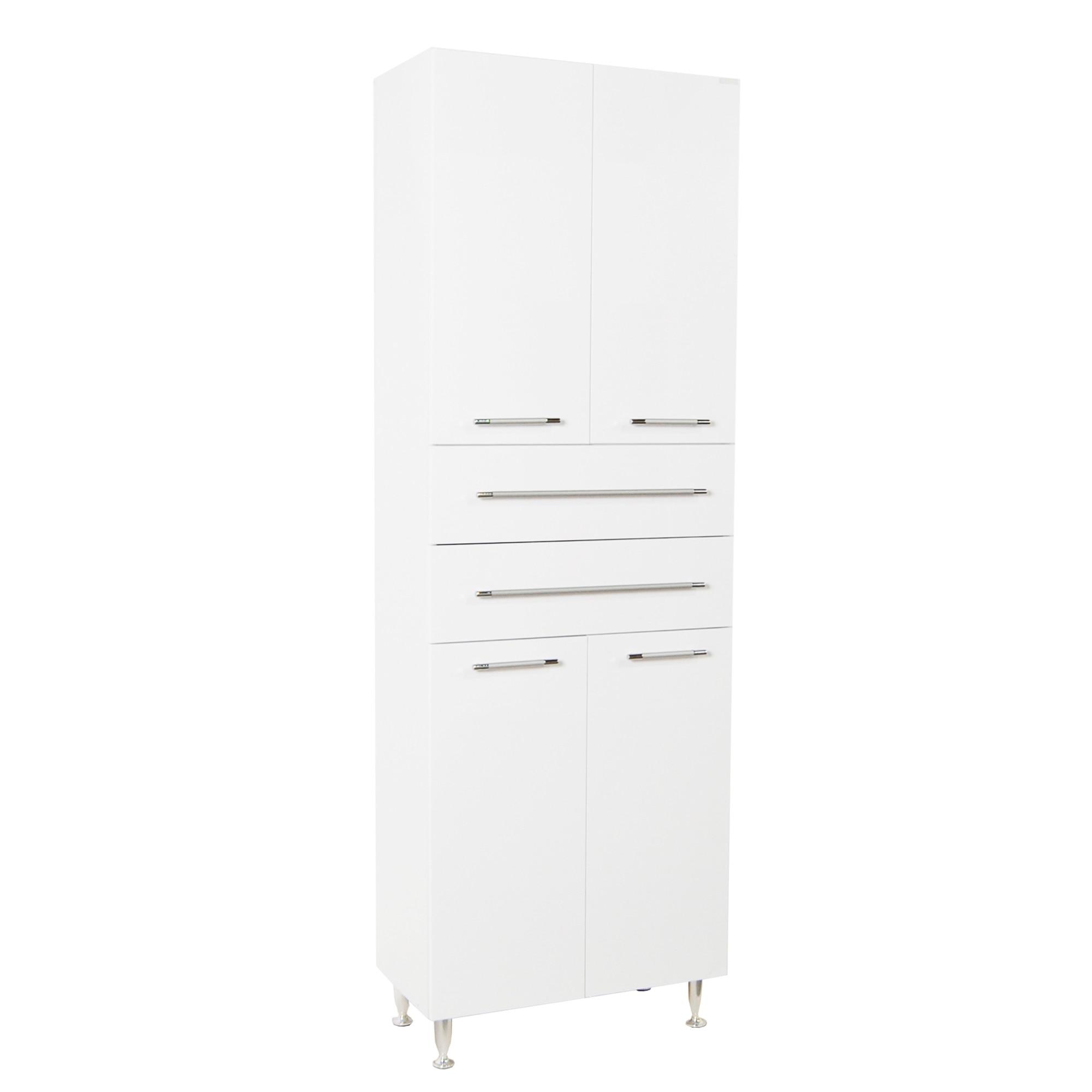 Fotografie Coloana mobilier (dulap) baie Badenmob 008, 170x60x31.6cm, alb