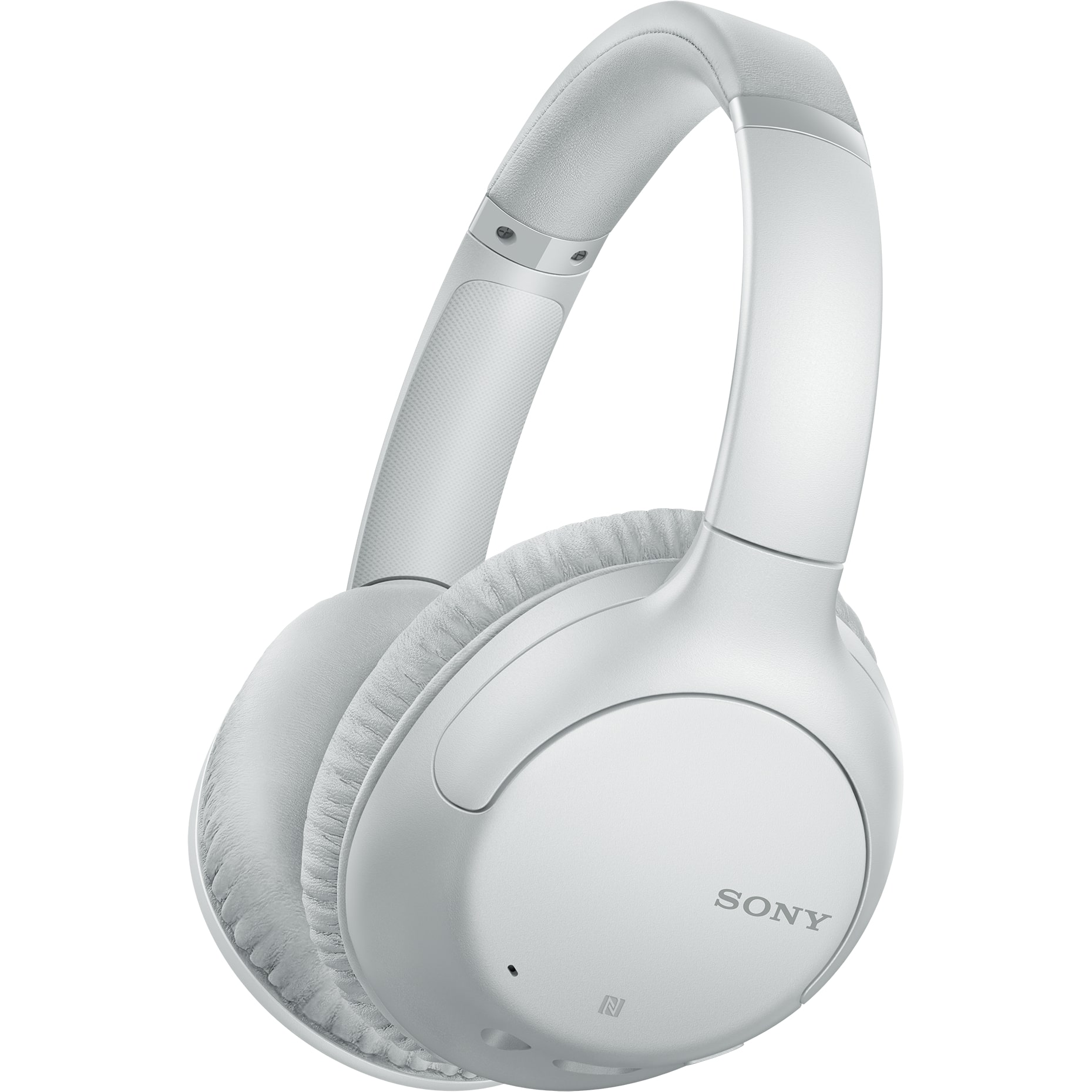 Fotografie Casti Over the Ear Sony WHCH710NW, Wireless, Bluetooth, Noise cancelling, Gri