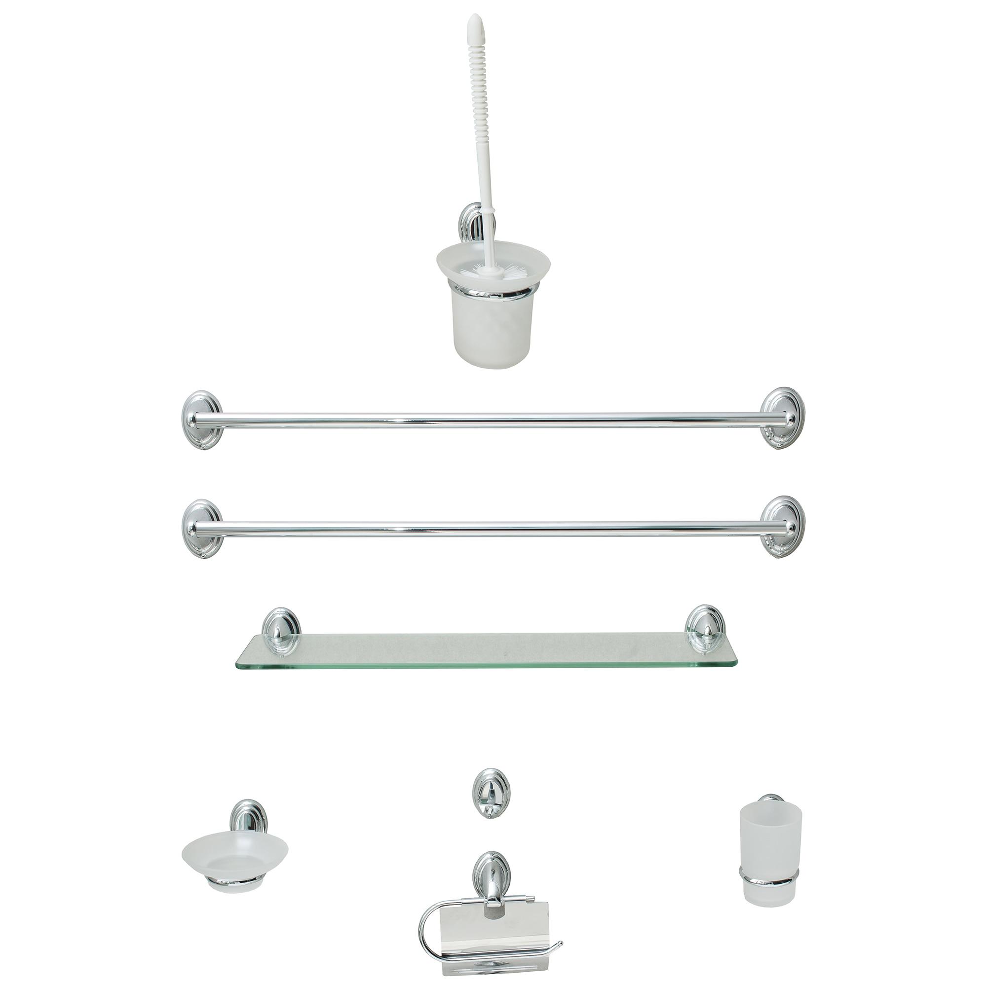 Fotografie Set accesorii pentru baie Bathroom FIBSE8, 8 piese