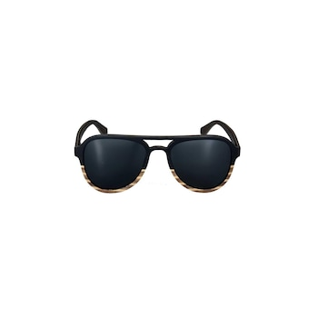 Wood4U Carrera uniszex napszemüveg