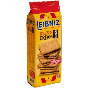 Biscuiti cu crema de cacao Leibniz, 190g