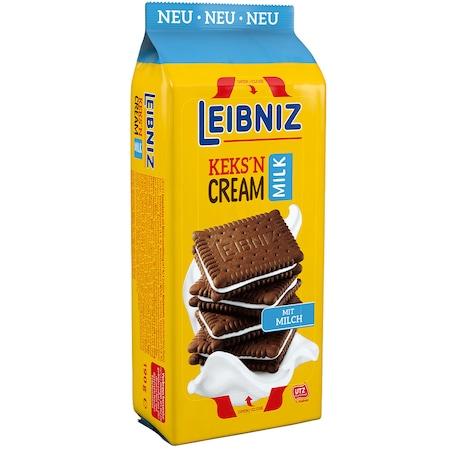 Biscuiti cu crema de lapte Leibniz, 190 gr.