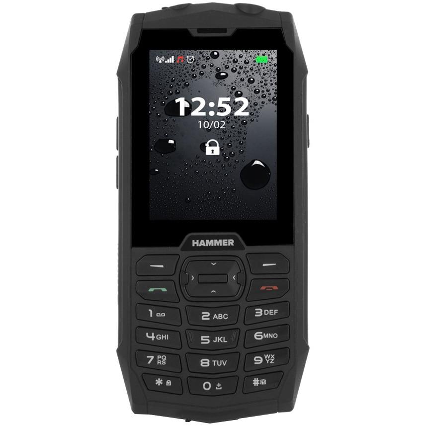 Fotografie Telefon mobil MyPhone Hammer 4, Dual SIM, Black