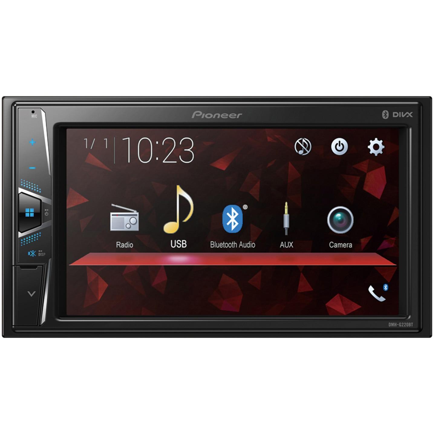 Fotografie Multimedia player auto Pioneer DMH-G220BT, 2DIN, Ecran tactil 6.2 inch, Bluetooth, 4x50W, USB, AUX