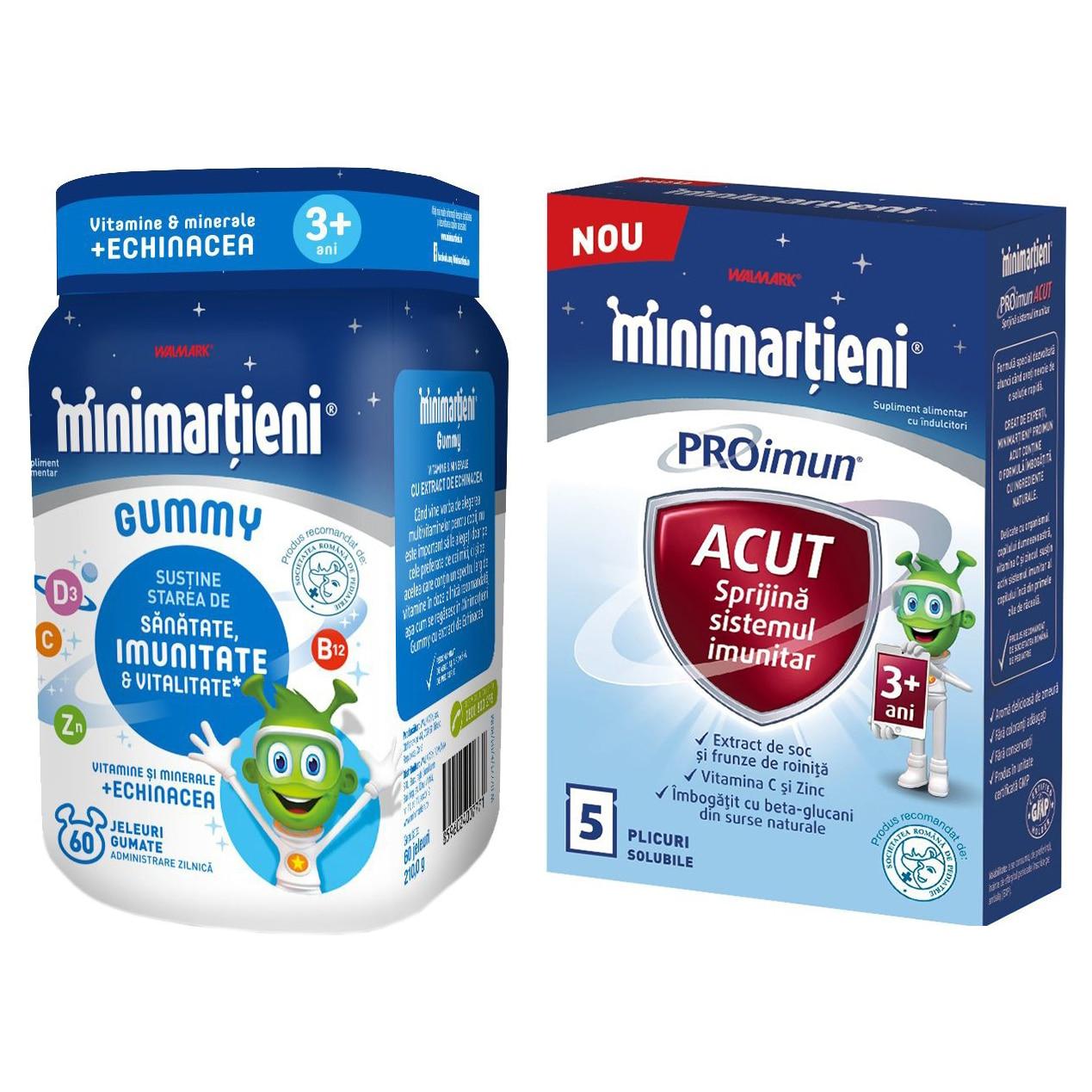 Minimarțieni ImunActiv Forte sirop, ml, Walmark : Farmacia Tei online
