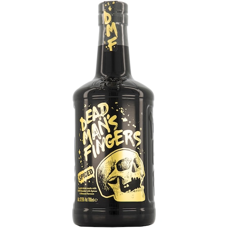 Rom Dead Man's Fingers, Spiced Rum, 37.5%, 0.7 l